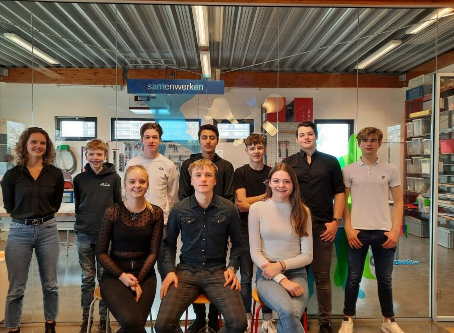 Leerlingen havo 4 doen mee met de Young Solar Challenge